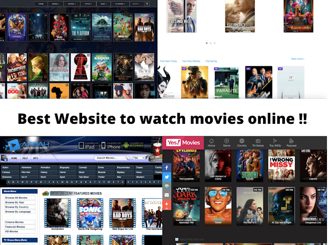 Best Websites To Watch Latest Bollywood & Hollywood Movies For Free!! 🤗🤗