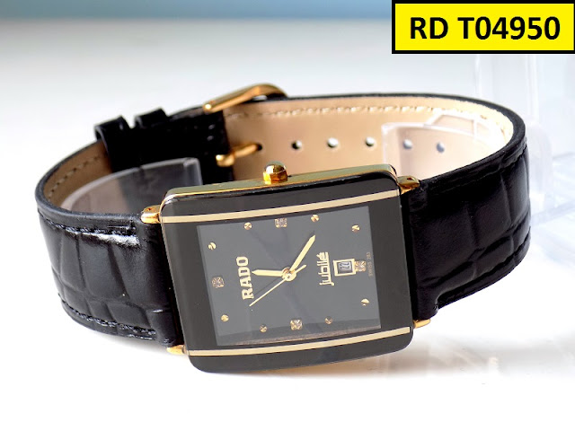 Đồng hồ dây da nam chất liệu tốt siêu bền mang êm tay