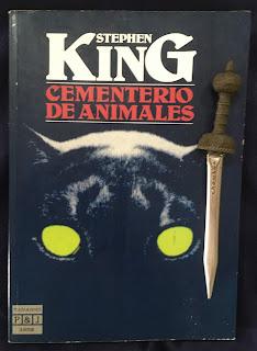 Portada del libro Cementerio de animales, de Stephen King