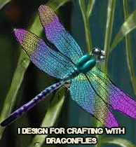 Crafting with Dragonflies DT