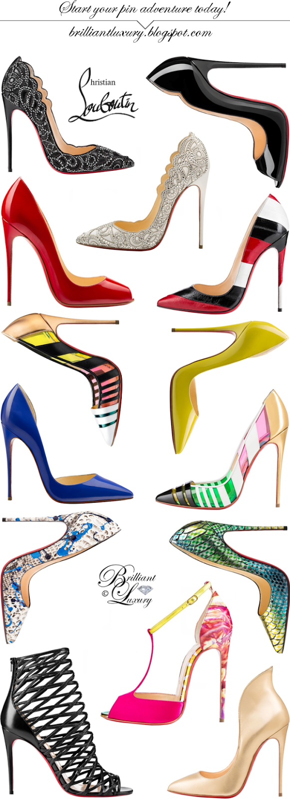 Brilliant Luxury ♦ Christian Louboutin Collection Spring 2015