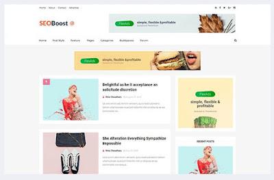 SEO Boost-Template Responsive Dan Fast Loading Dari Themexpose