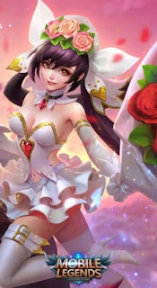 Layla Cannon Rose Skin Mobile Legend