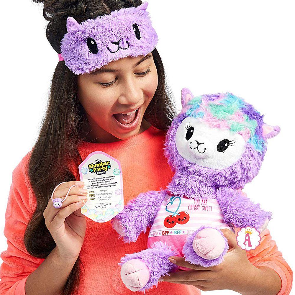Мягкая игрушка в поп-корне Gemmi Jamma Pajama Llama
