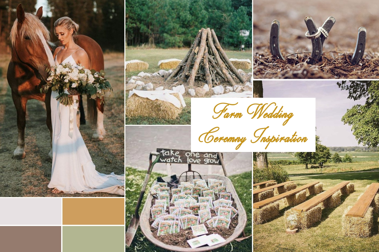 farm or barn wedding theme