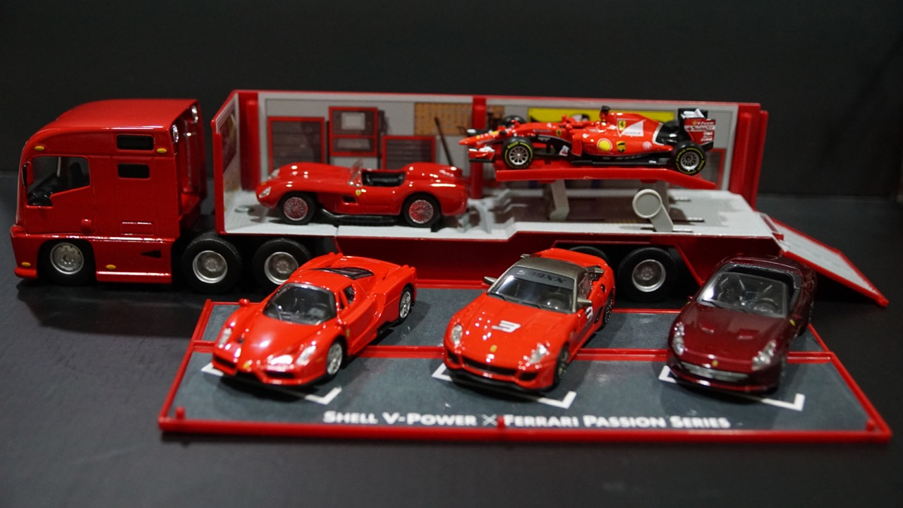 Alteregoistic Toy Blogger The Shell V Power X Ferrari Passion
