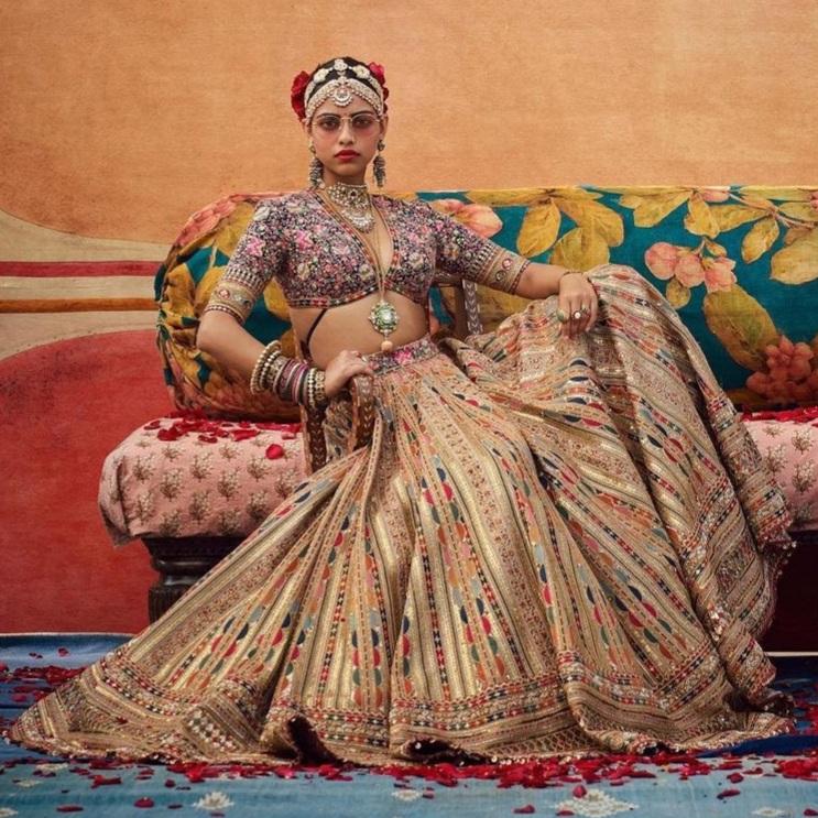 best sabyasachi Bridal Lehenga