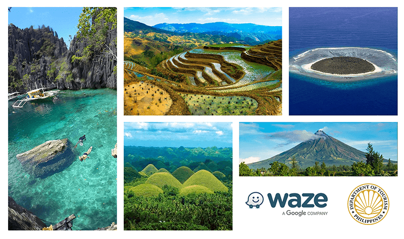 Waze partners with DoT for the 100 Days in the Philippines campaign