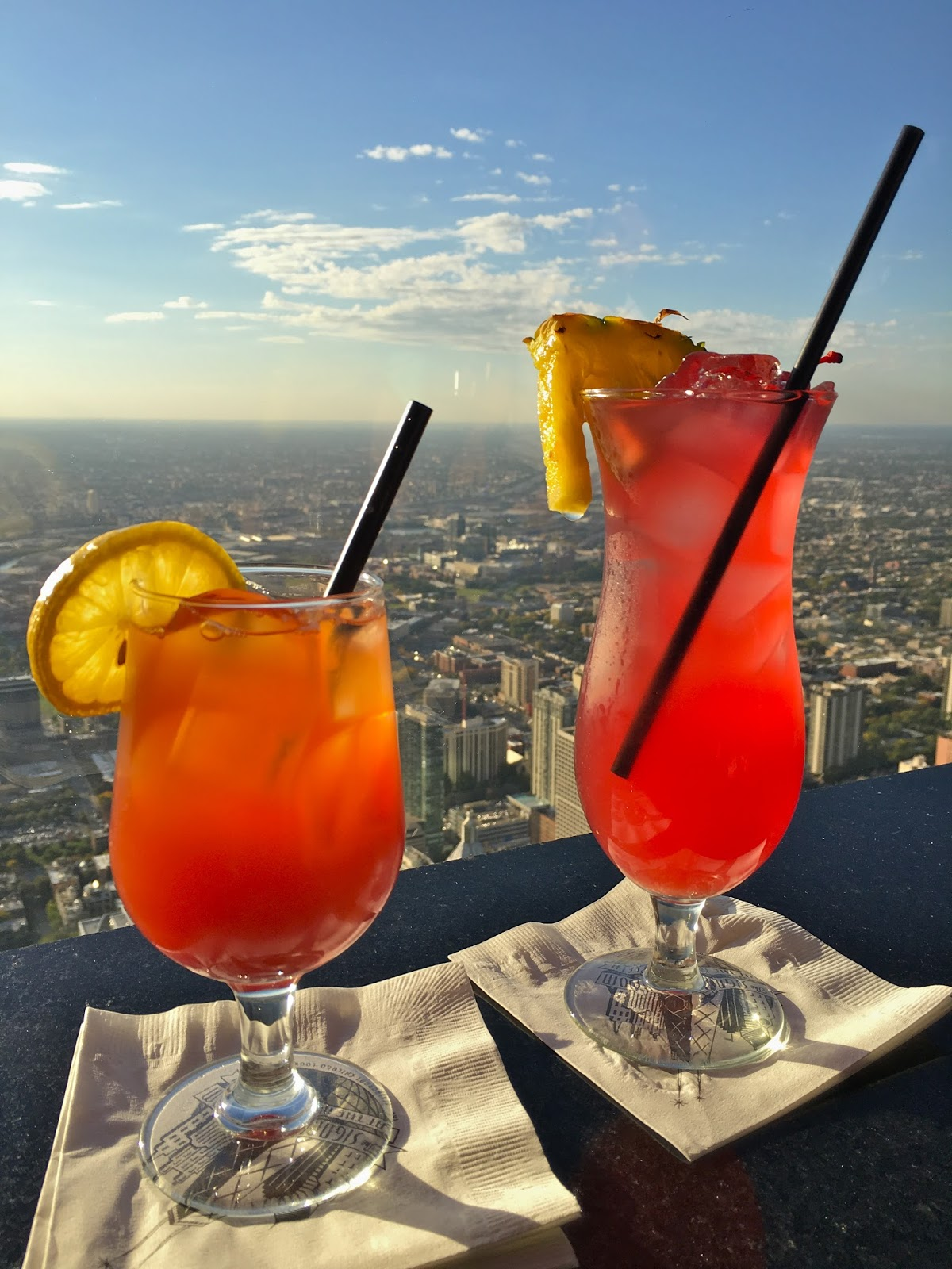 signature room lounge drinks