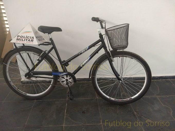 Bicicleta furtada no Centro de Belo Oriente é recuperada pela Polícia Militar e infrator preso