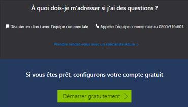 Azure Cloud à quoi s'adresser si on a des questions ?