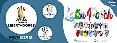 PES 2019 Latin Patch 2019 Season 2019/2020
