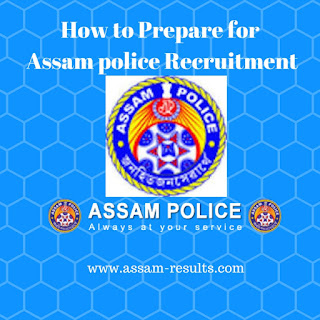 Assam Police Recruitment Syllabus 2017-2018