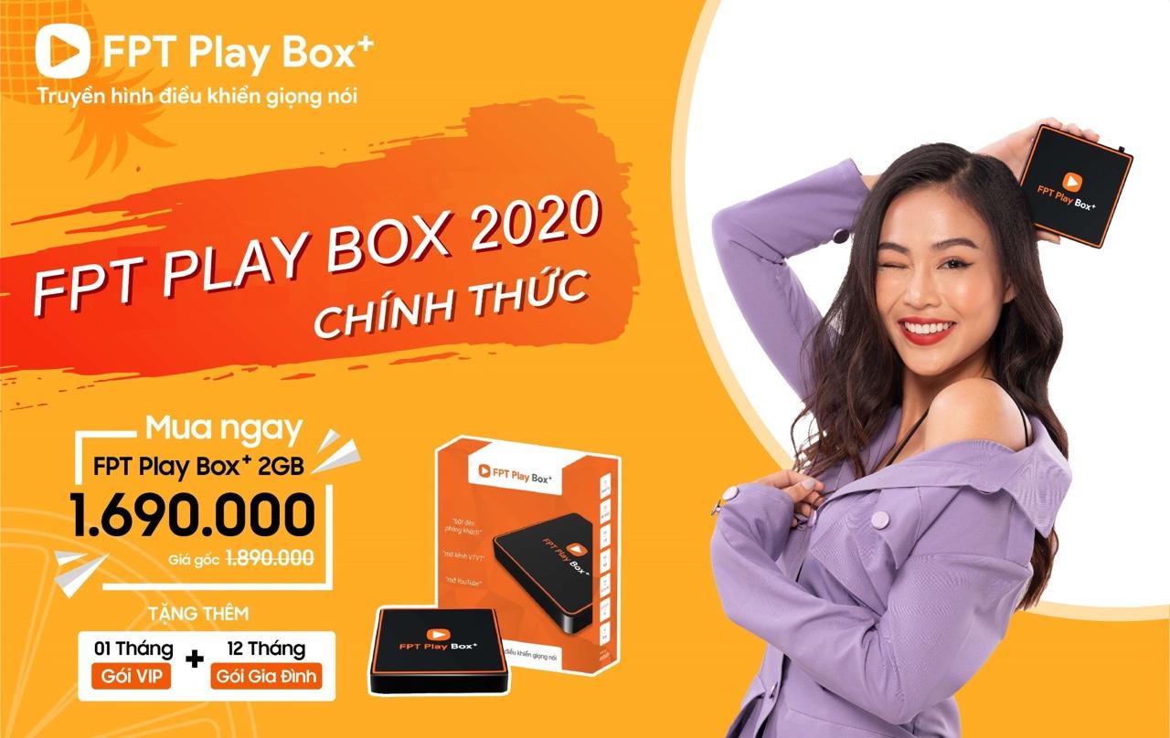 FPT Play BOX+ 2020 - Mã sản phẩm S550