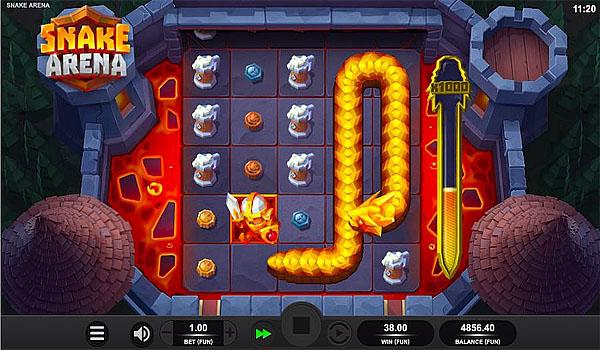 Main Gratis Slot Indonesia - Snake Arena Relax Gaming