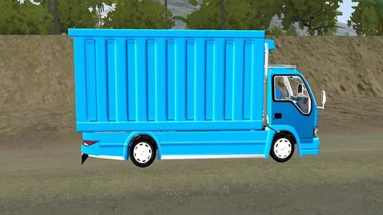 mod truck isuzu nkr 71 box