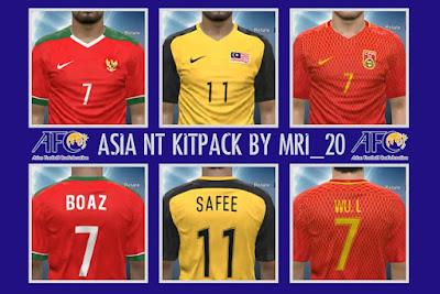 PES 2016   PES 2017 Asian NT Kits-Pack da04d73df