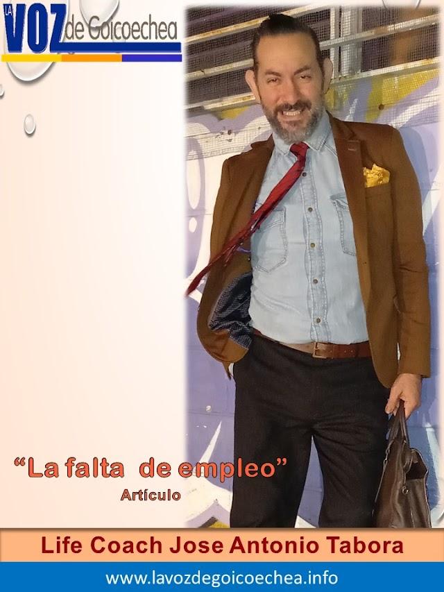 "Columna de José Antonio Tabora: ""La falta de empleo"""