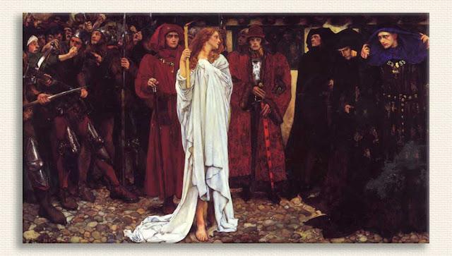 Edwin Austin Abbey, Hamlet Oyunundan Bir Sahne tablosu