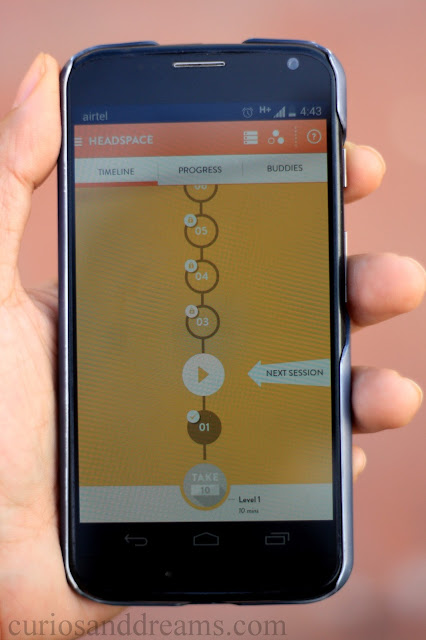 What's on my phone, headspace app review