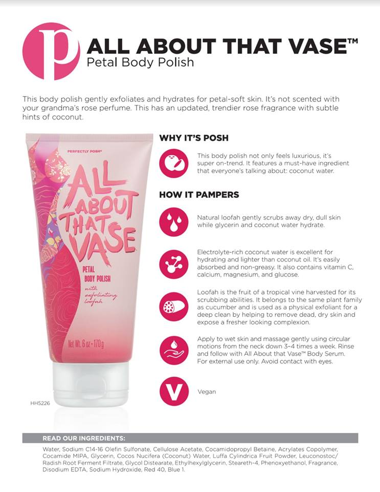 Pampered Posh Momma Ind Perfectly Posh Products Consultant