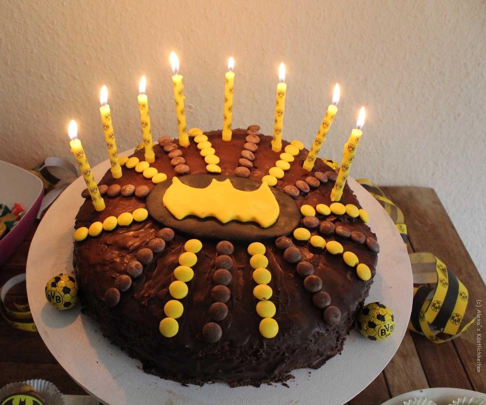Batman Kuchen Selber Machen – Held Bild Idee