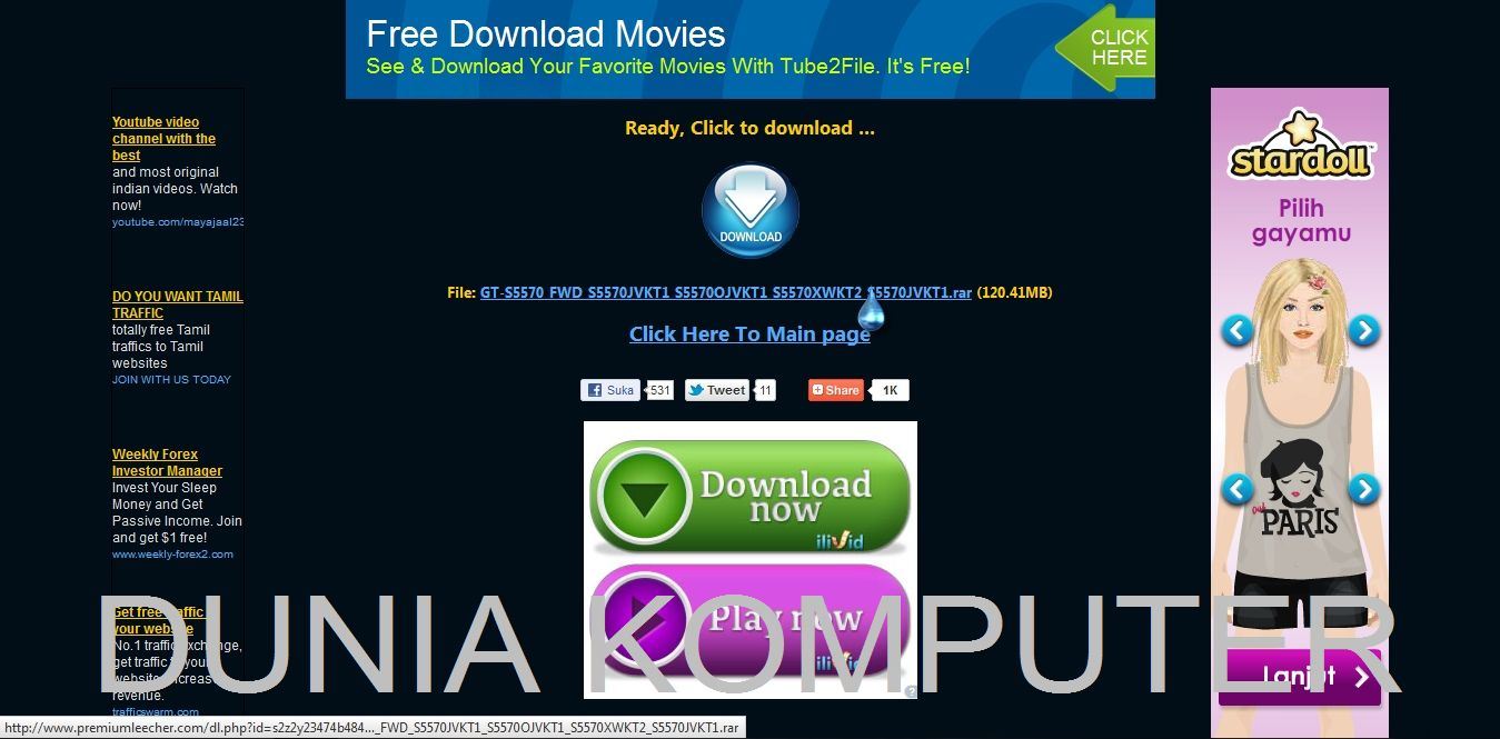 Trik Download Premium Tanpa Akun | DUNIA KOMPUTER