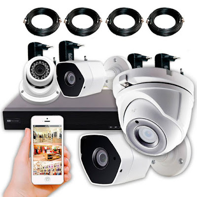 Cámaras vigilancia CCTV kits