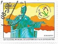 Selo Estátua de Alma Mater