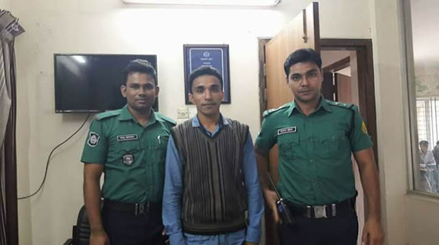 Chhatra-League-leader-arrested-in-Sylhet-Police