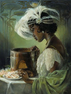 """Dig A LIttle Deeper"" (Tiana) by Heather Edwards"