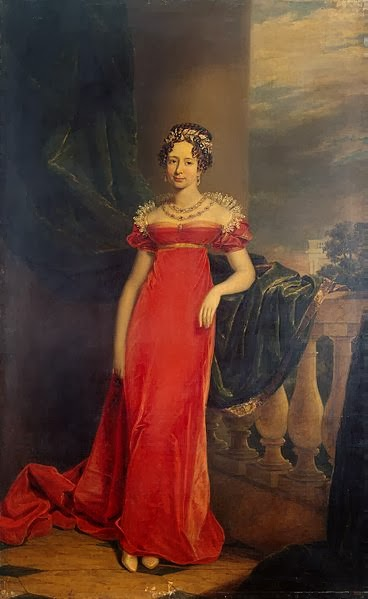 Grand Duchess Maria Pavlovna of Russia by George Dawe, 1825