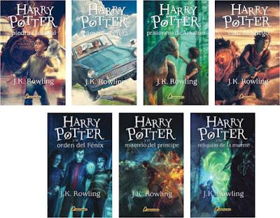 5 libros para leer durante la cuarentena: la saga de Harry Potter por J.K. Rowling