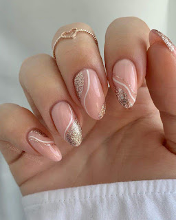 Rose Gold Nail Designs