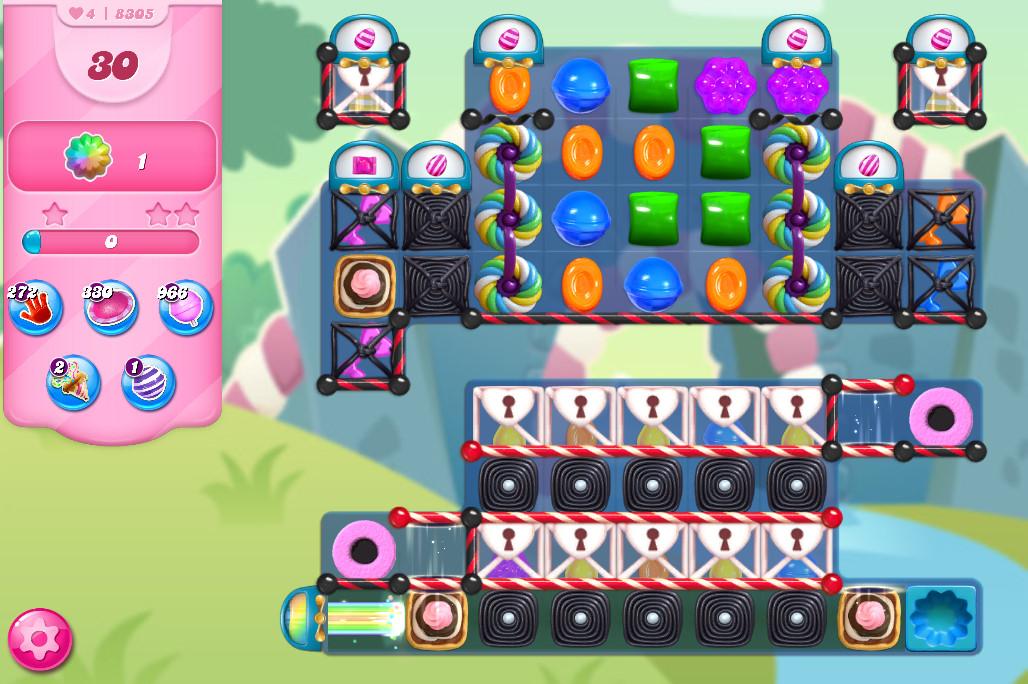 Candy Crush Saga level 8305