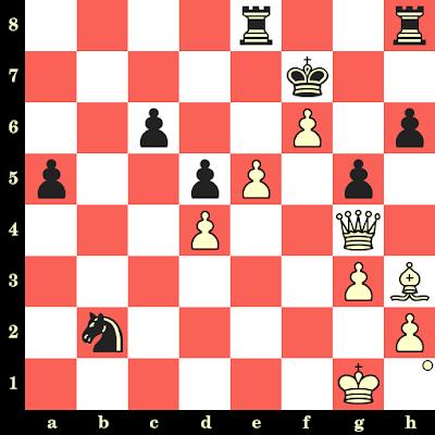 Les Blancs jouent et matent en 4 coups - Tigran Petrossian vs Rafael Kakiashvili, Tbilissi, 1945