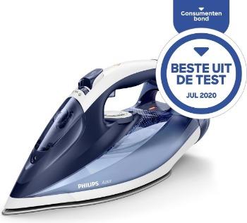 Beste stoomstrijkijzer test consumentenbond Philips Azur