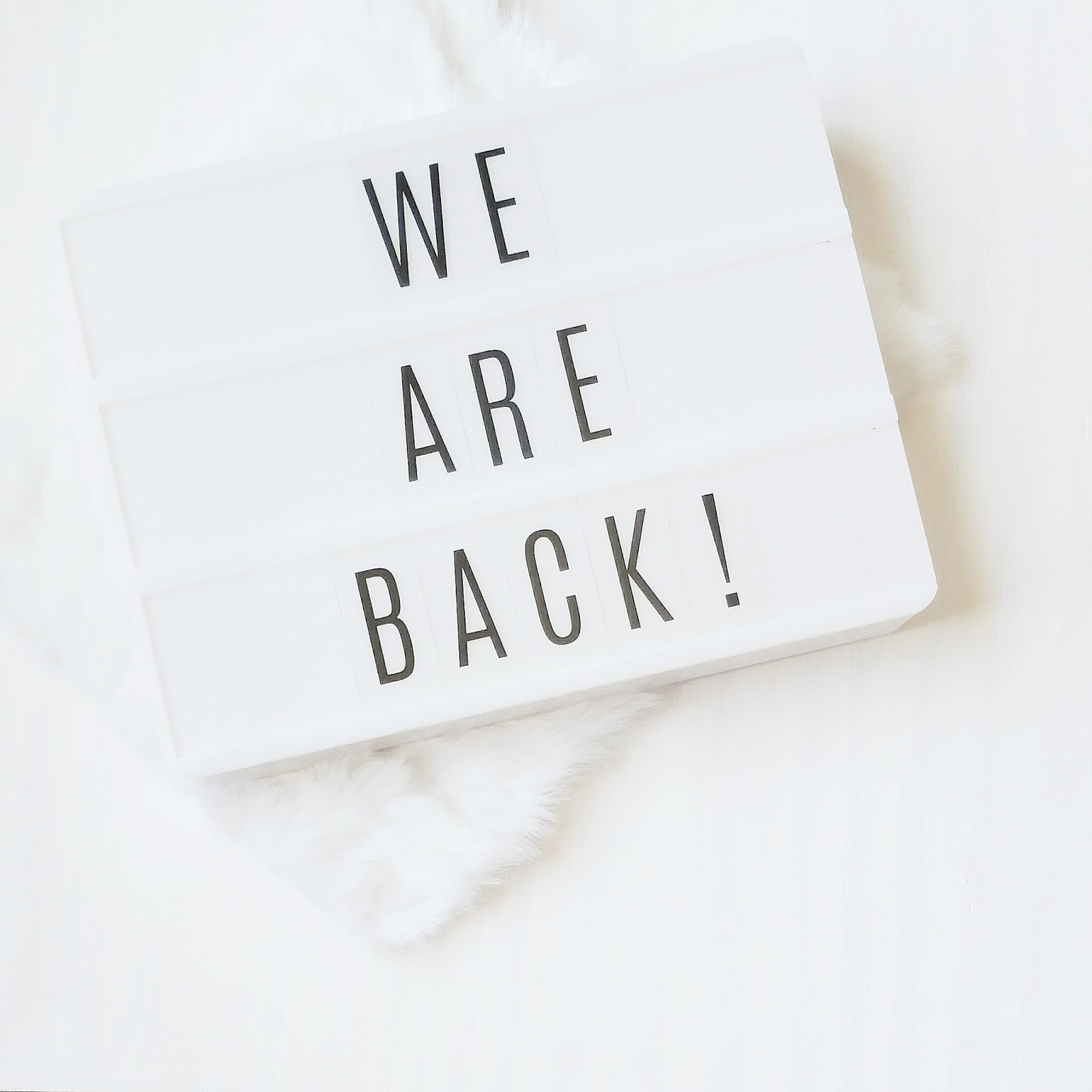 We're Back - an Update from Bambino Amore - the Apron Makers