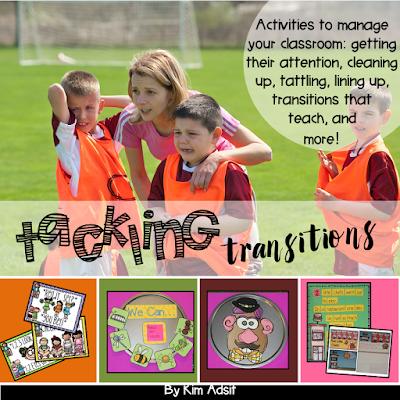 https://www.teacherspayteachers.com/Product/Transitions-Tackling-Transitions-by-Kim-Adsit-947178