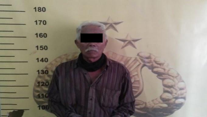 Pria Lanjut Usia Tertangkap Polisi Karena Kasus Judi Togel di Minahasa Selatan