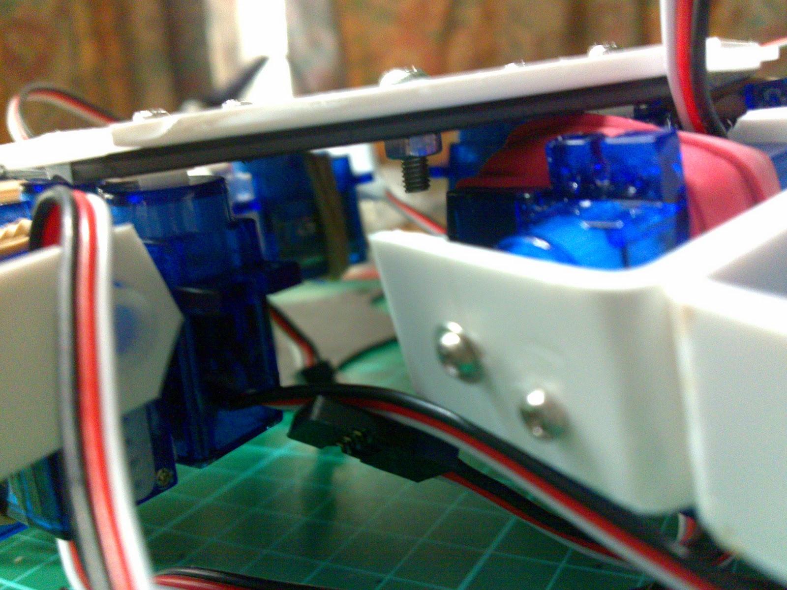 Arduino Hexapod Robot, IK Algorithm and Source code - Oscar