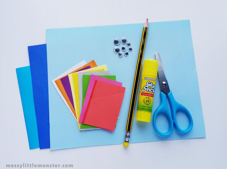 Easy ocean paper craft supplies