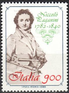 Italy - 1982 Niccolo Paganini
