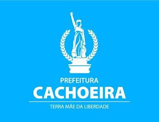 Imagem: Brasão da Prefeitura Municipal da Cachoeira