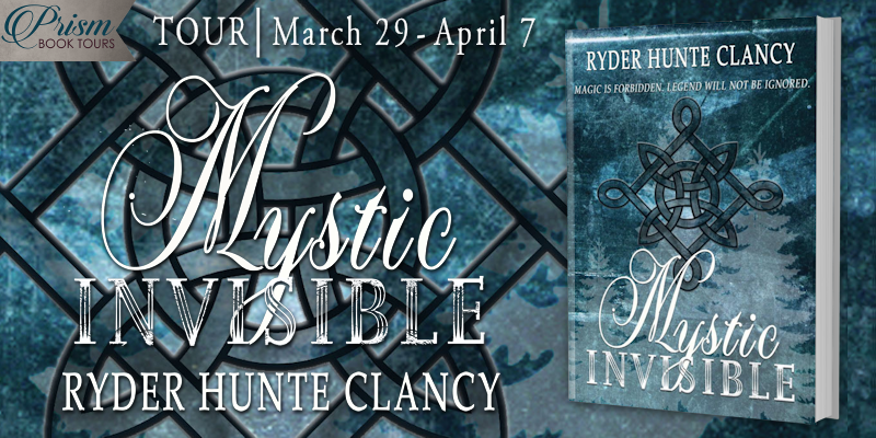 We're launching the Book Tour for MYSTIC INVISIBLE by Ryder Hunte Clancy!