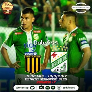 The Strongest vs Oriente Petrolero - Super Milaneza - Hache Barber Studio - DaleOoo