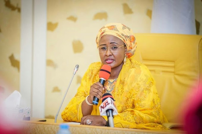 POLITICS: Aisha Buhari says she's 'First Lady', not 'Wife of the President'