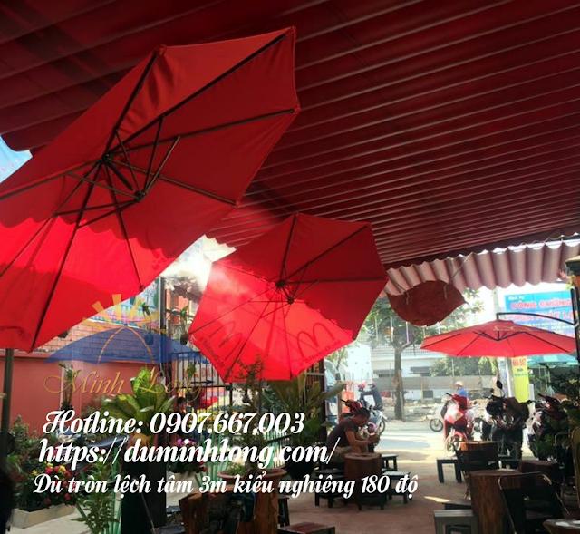 Đại lý dù che nắng tại quận Tân Bình