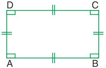 Ciri-ciri dan Sifat-sifat Bangun Datar Persegi Panjang Matematika Kelas 3 SD