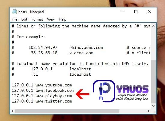 Cara Mudah Blokir Website Di Komputer PC / Laptop